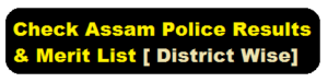 Check Assam Police Results