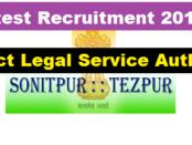 DLSA Sonitpur Recruitment 2017 - Current Govt. Job in Assam Career Jobs alert sarkari sakori