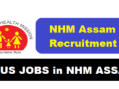 National Health Mission [NHM/NRHM] Assam Recruitment 2017 - assam career, current govt jobs in assam