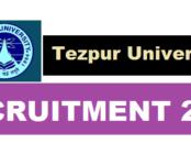 Tezpur University Recruitment 2017 - TU jobs assam career job alerts sarkari sakori