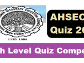 Swades Adhyayan QUIZ Competition 2017 under AHSEC Assam Career