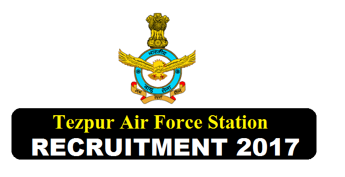Tezpur Air Force Station Recruitment 2017 - Sales Attendant Posts - Sales Attendant Assam Career Jobs