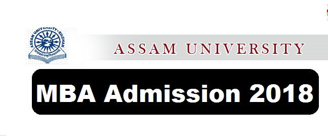 Jawaharlal Nehru School of Management Studies Assam University Admission Notification MBA Programme-2018