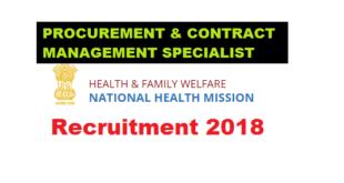 National Health Mission (NHM), Assam Recruitment 2018 - Contractual Posts , Assam Career ,