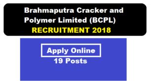 BCPL Dibrugarh Recruitment 2018 | Foreman/ Operator/ Technician Posts - Assam Career Sarkari Sakori Job alerts job news assam free