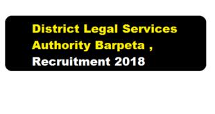 District Legal Services Authority(DLSA),Barpeta Recruitment 2018 | LDA cum Typist & Data Entry Operator Posts - Assam Career Sarkari Sakori Job News Alerts