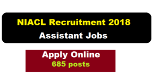 New India Assurance Company Limited (NIACL) Recruitment 2018 - assam career